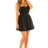 Party For Days Dress: Black