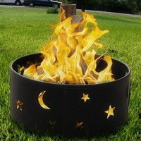 Outdoor Classics Cosmic Stars and Moon Fire Ring - NEW LOW PRICE!