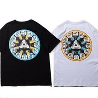 New Fashion Summer Palace T Shirt Summer Women Men T Shirt Men Tees - Ready Stock