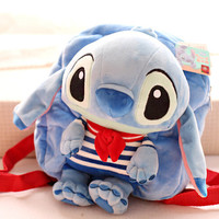 LILO AND STITCH PLUSH BACKPACK