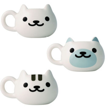 Neko Atsume Face Mugs