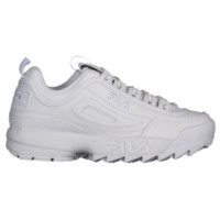 Fila Disruptor II Premium - Women's - Shoes - Casual - Women's - Casual Training Sneakers - Fila - White/White/White | Foot Locker
