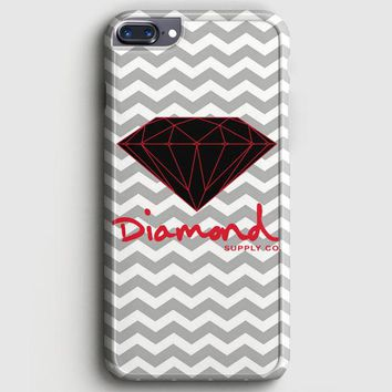 Red Diamond Supply Co Chevron iPhone 7 Plus Case
