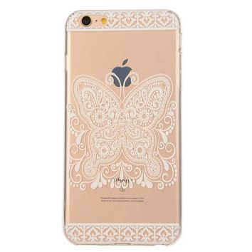 Hollow Out Butterfly Case Cover for iphone 5s 6 6s Plus + Gift Box 42-170928