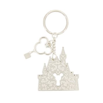 Disney Parks Key to the Kingdom Keychain New with Tags