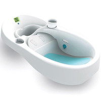 4moms Cleanwater Infant Tub w/ Thermometer - babyearth.com
