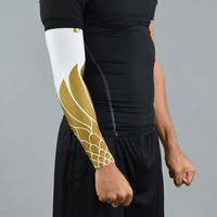 Icarus White and Gold arm sleeve