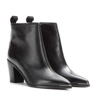 acne studios - loma leather ankle boots