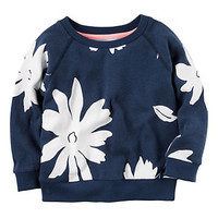 Baby Girl Carter's Floral Print Pullover