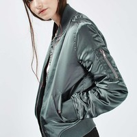 Shiny Ma1 Bomber - Up to 30% Off Fashion Bombers - Sale & Offers