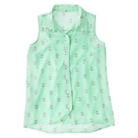 Girls' Button Down Shirt