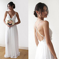 Simple Informal Wedding Dress