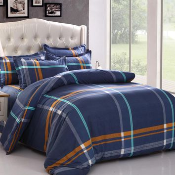Luxury 2016 4PCS/Set Comforter Bedding Sets Printing Bed Sheet Duvet Cover Pillow Cases Bedcover for Wedding Home Decoration