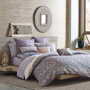 Under The Canopy Goddess Bedding - Purple Damask By Under The Canopy Bedding,