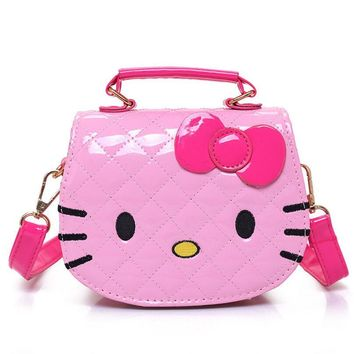 Pink Hello Kitty Water Proof Handbag