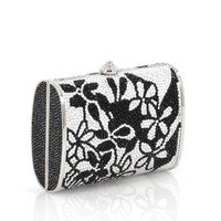 Buy Judith Leiber Minaudiere Crystal Small Black 1871206