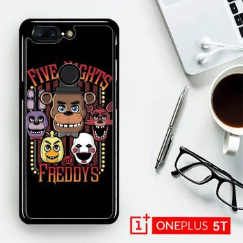 Five Nights At Freddy'S Characters Z4221  OnePLus 5T / One Plus 5T Case