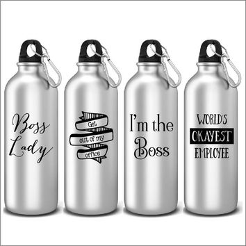 Funny Office Inspired Sports Water Bottles Novelty Gifts