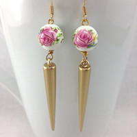 Spring Spike Earrings
