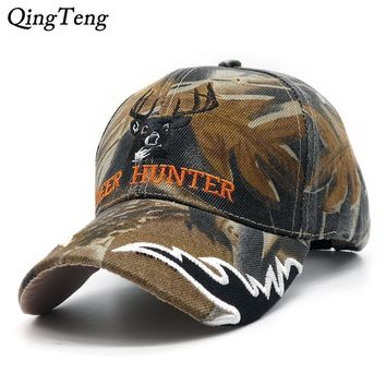2017 New Arrival Deer Cap Camo Caps Baseball Casquette Camouflage Hats Casquette Polo