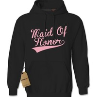 Maid Of Honor Bachelorette Wedding Bridal Party  Adult Hoodie Sweatshirt
