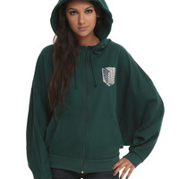 Attack On Titan Scout Regiment Girls Costume Hoodie