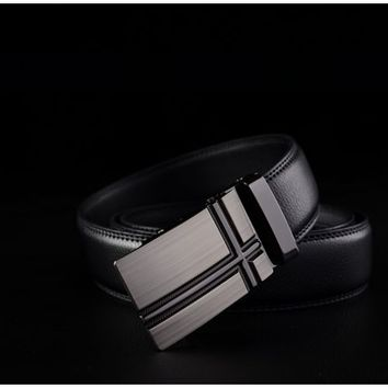 London Lead Genuine Leather Belt