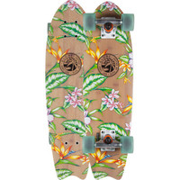 Globe Paradise Fiberglass Skateboard Bamboo/Clearwater One Size For Men 23859841401