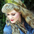 Princess Aurora Sleeping Beauty Adult Costume Crown Polished Brass A True Enchantment Original