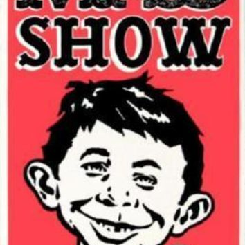 Mad Show Poster Standup 4inx6in