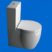 GSI Toilet Seats GSI Panorama Toilet Seat Soft-Close - TS050BC