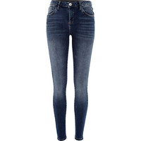 River Island Womens Medium wash Amelie reform superskinny jeans