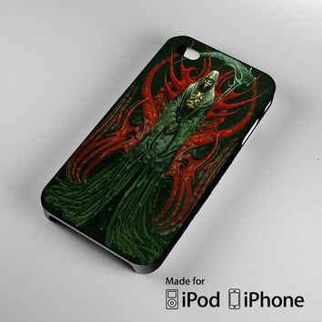 grim reaper death skull symbol iPhone 4 4S 5 5S 5C 6, iPod Touch 4 5 Cases