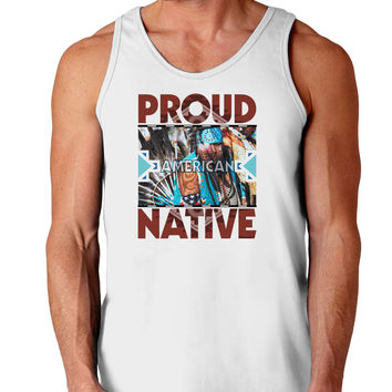 Proud Native American Loose Tank Top