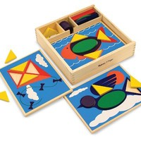 Melissa & Doug Beginner Pattern Blocks