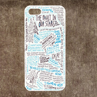 The Fault in Our Stars iPhone 4/4S or 5 Case