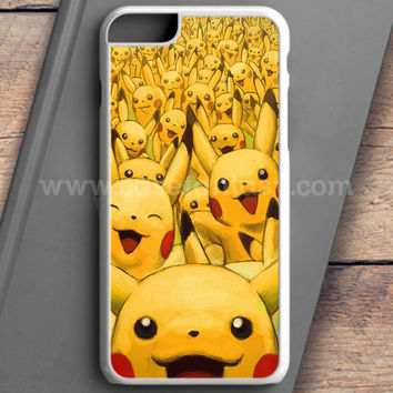 Pikachu Pokemon Wallpaper iPhone 6 Plus Case | casefantasy