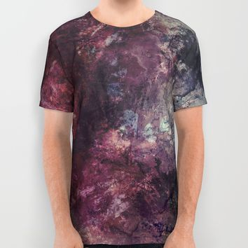 acrylic grunge All Over Print Shirt by VanessaGF