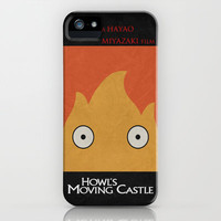 Howl's Moving Castle Poster iPhone Case by Misery | Society6