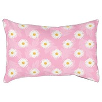 Pretty Daisy Flowers Pattern On Light Pink Pet Bed