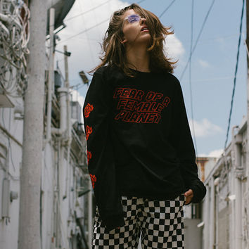 Fear of a Female Planet Long Sleeves Tee