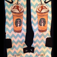 Starbucks Inspired Custom Nike Elites