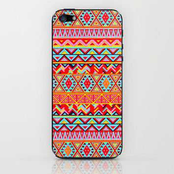 India Style Pattern (Multicolor) iPhone & iPod Skin by Maximilian San | Society6