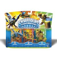 Skylanders Spyro's Adventure Triple Character Pack (Drobot, Flameslinger, Stump Smash)
