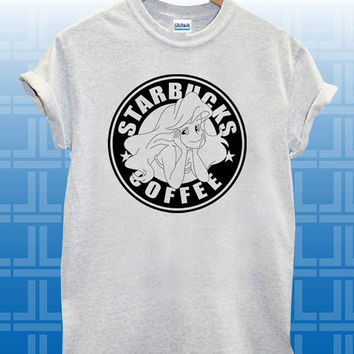 Starbuck Ariel Little Mermaid T-SHIRT By GUPH