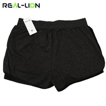 XC 2 in 1 Summer Yoga Shorts Mesh Breathable Ladie Girl Short Pants for Running Athletic Sport Fitness Clothes Jogging