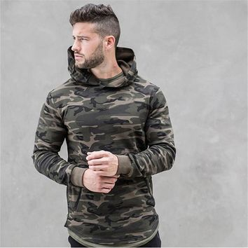 Mens Camo Hoodies