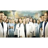 Greys Anatomy Season 10 Poster by Silk Printing # Size about (107cm x 60cm, 43inch x 24inch) # Unique Gift # 94A4CC