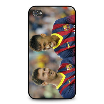 Messi and Neymar iPhone 4 | 4S case