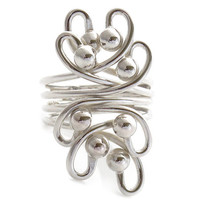 Silver ring - Wondering - Sterling Silver Rings Shop